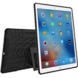DMG Rugged Hybrid Back Cover Mesh Kickstand Armor Case for Apple iPad Pro 9.7 inch/Pro 2  (Black)