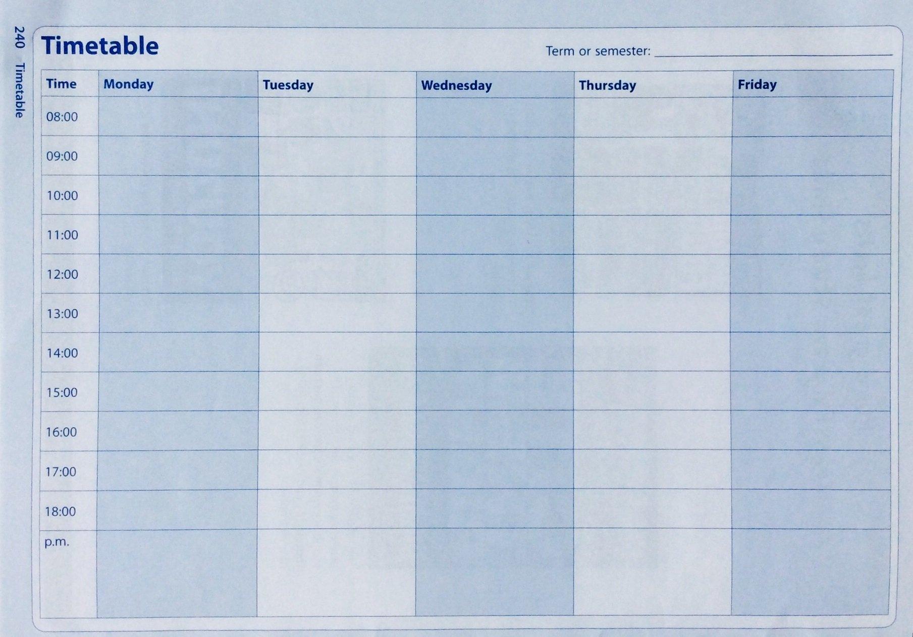 student online planner