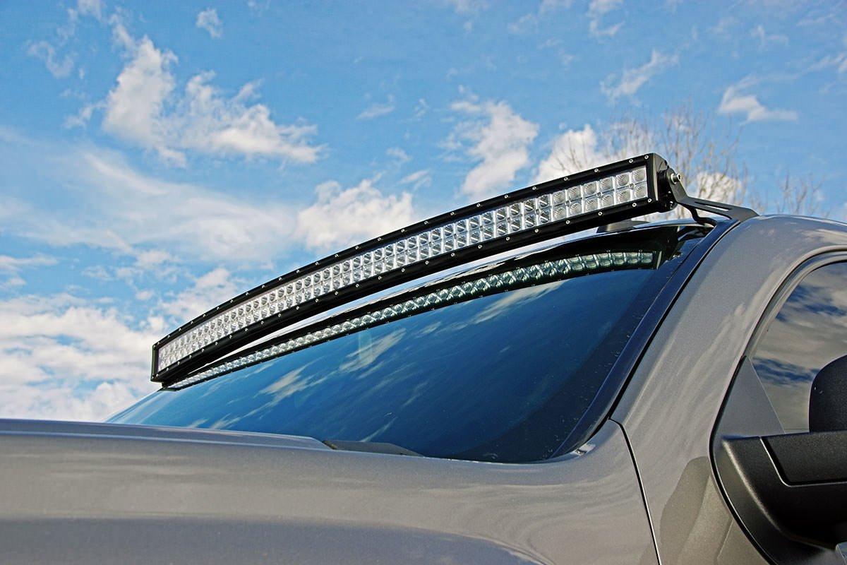 amazon com rough country suspension 70507 curved led light rh amazon com