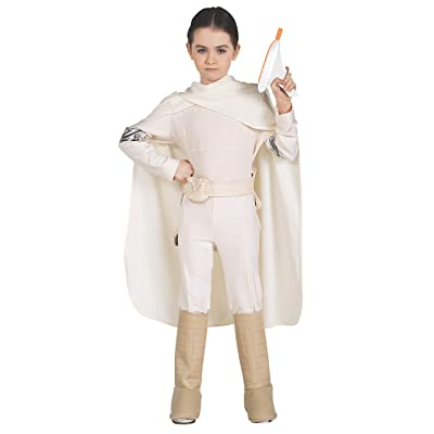 Star Wars Padme Amidala Deluxe Child Costume: Toys & Games