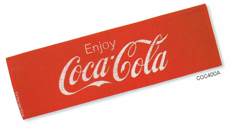 コカ・コーラ レッド・ジャガード スポーツタオル