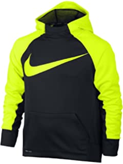 aa1f3d1005c954 Amazon.com  Nike Boy s Therma Graphic Training Pullover Hoodie  Clothing