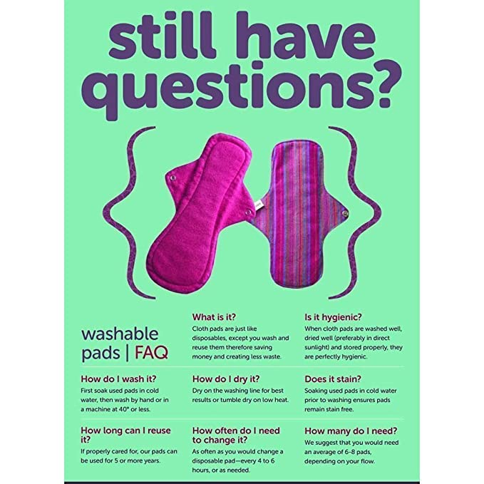 Image result for cloth pads about why change