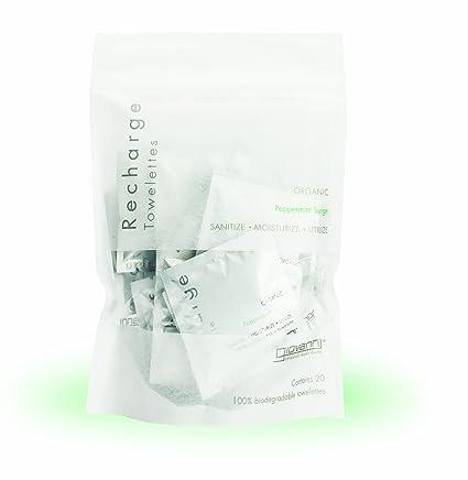 Giovanni - Mini desinfectante toallitas recarga menta oleada - 20 Towelette(s)