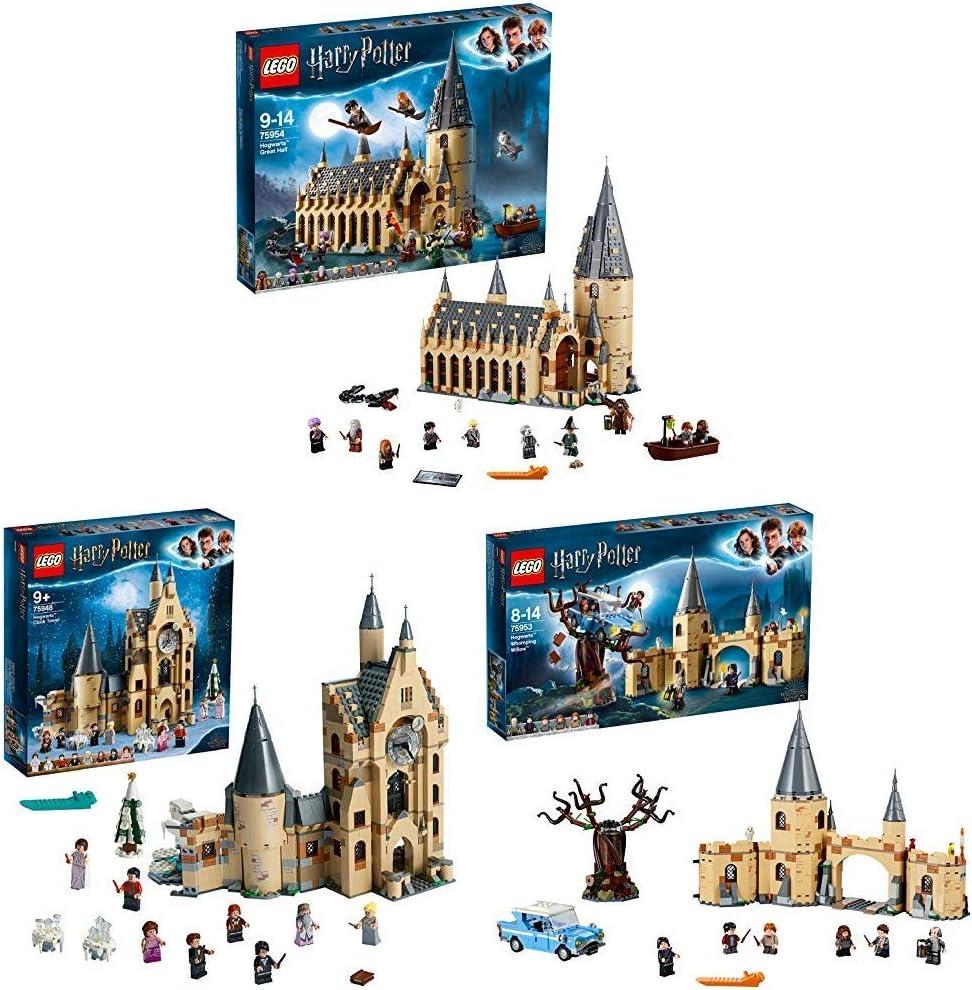 LEGO Harry Potter Gran Comedor de Hogwarts (75954) + Torre del ...