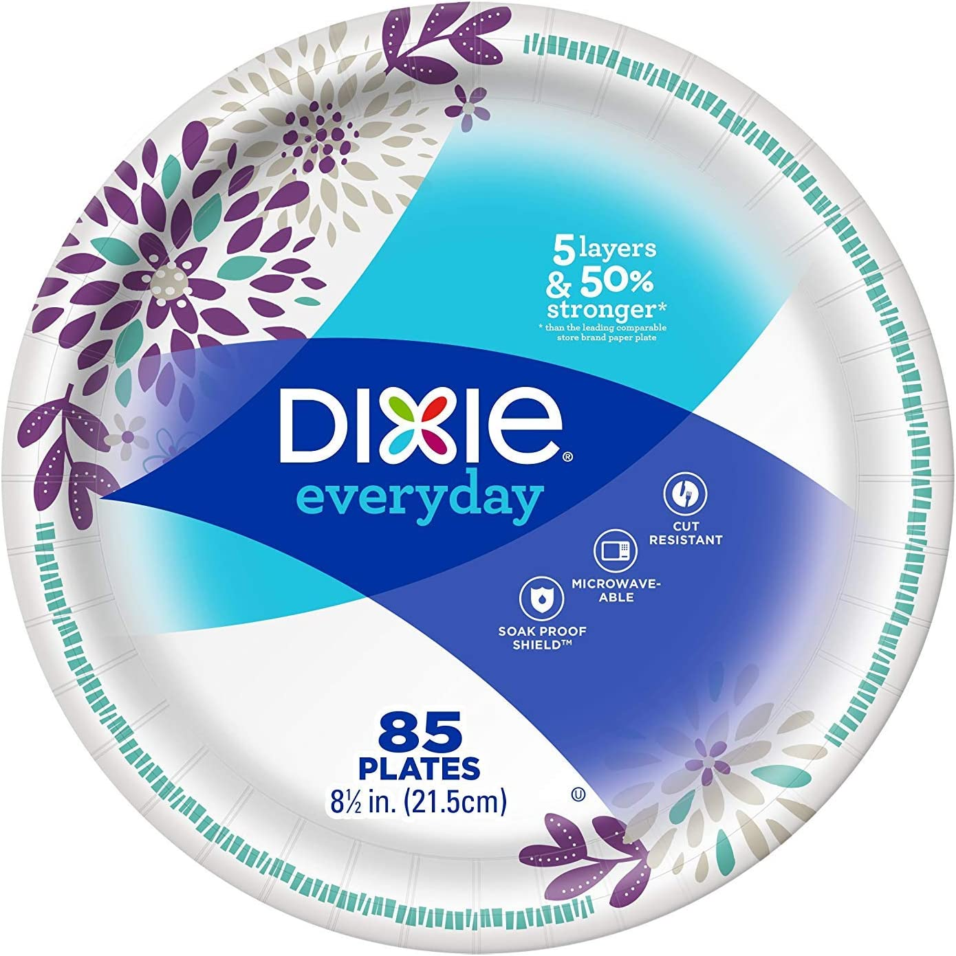 Family Pack 95 count Dixie 8.5 inch Plates