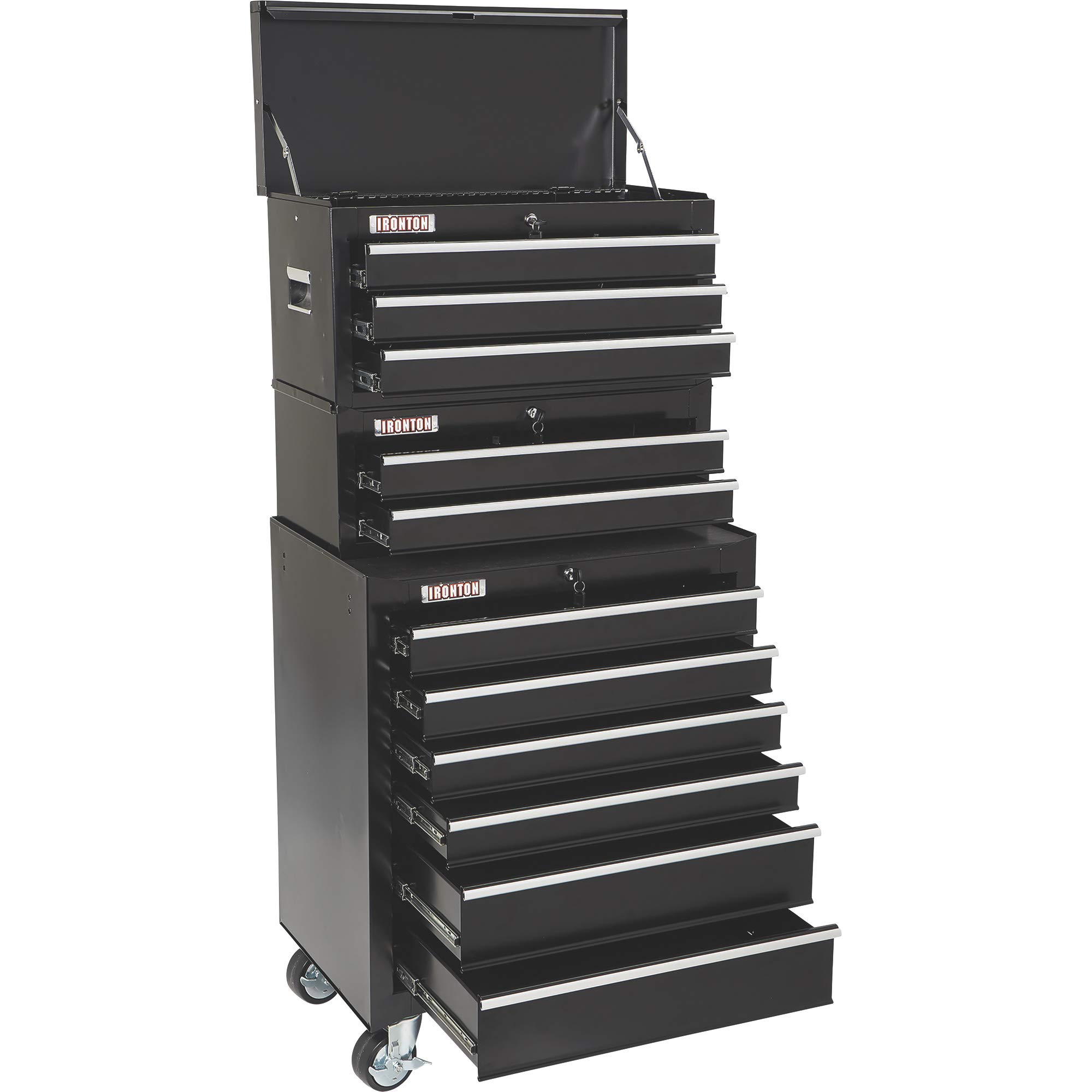 Ironton 26in. 6-Drawer Rolling Tool Chest - 26.75in.W x 18in.D x 33.3in.H by Ironton (Image #9)