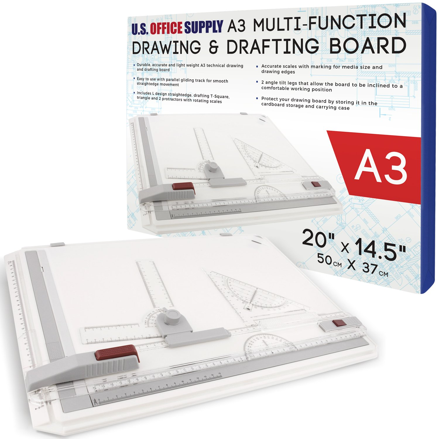 office drawing tools. Amazon.com : U.S. Office Supply 20 Inch X 14.5 (A3) Multi-Functional Drawing Board Set With Assorted \u0026 Drafting Tools Products