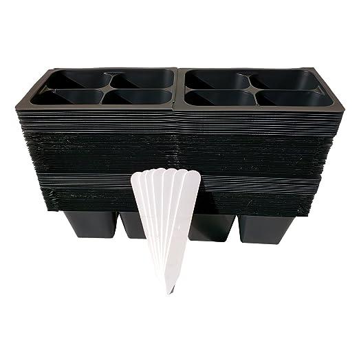 480 semillas celdas de partida para Plant germinación + 5 ...