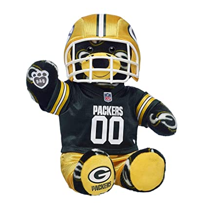 Amazon.com  Build A Bear Workshop Workshop Green Bay Packers Teddy ... 351e91a77