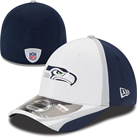 4a2751891d4 Amazon.com   New Era Seattle Seahawks 39THIRTY 2014 Official ...