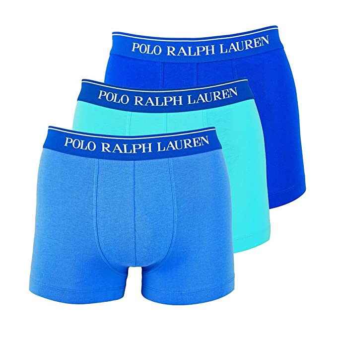 POLO RALPH LAUREN Shorts Hombre 3 Pack, Classic Trunk, Solid ...