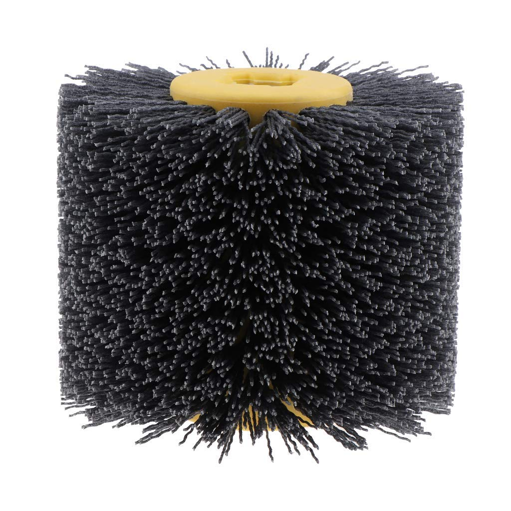 Tubayia 80-240 K/örnung Nylonb/ürste Walzenb/ürste Drahtb/ürste f/ür Schleifmaschine Satiniermaschine 180 k/örnung