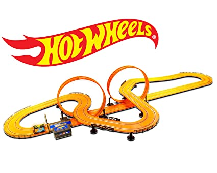 dcd7530c5 Image Unavailable. Image not available for. Color  Hot Wheels Slot Car Track  ...