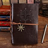 Travel Journal Notebooks, Vintage PU Leather Note