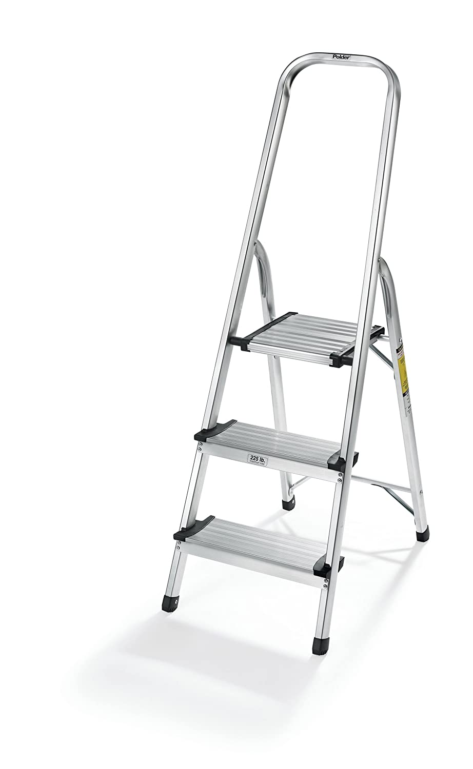 Polder Ultra Light Aluminum 3 Step Ladder Ebay