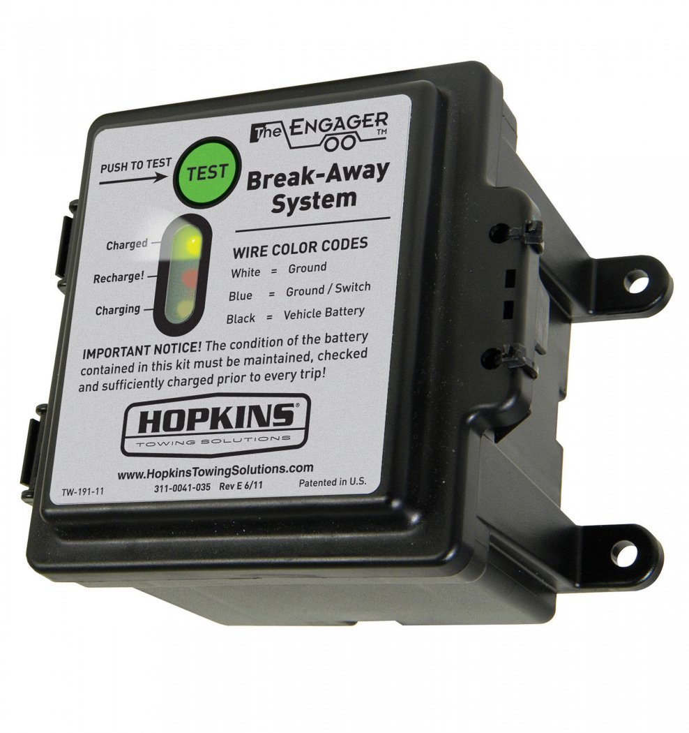 Hopkins The Engager 20099 Break Away Systerm W Battery Meter Wiring Diagram In Addition Trailer Brake Breakaway Switch Retail Box Amazon Canada
