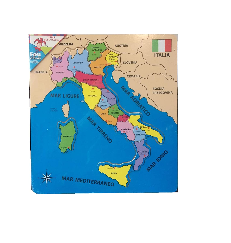 Cartina 1500.Cartina Italia Didattica Cp Puzzle In Legno Cartina Geografica Italia In Legno Giochi E Giocattoli Puzzle Di Legno Outlookplanningdevelopment Com Au