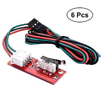 OUNONA 6 pcs mecánica endstopp endschalter con Cable para RepRap ...
