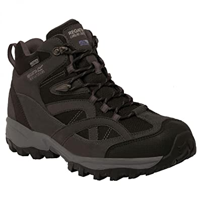 Regatta Mens Brown Alderson Mid Walking Boot: Amazon.co.uk: Sports &  Outdoors