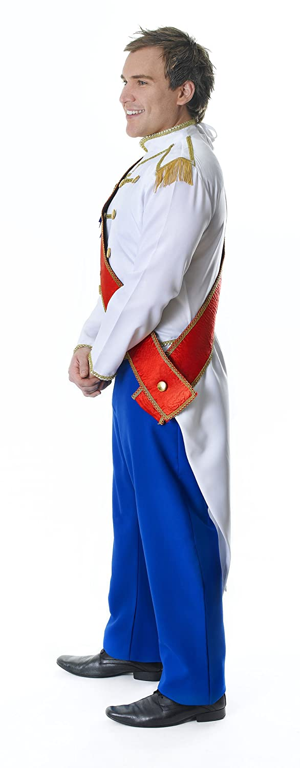 mens prince charming costume for fairytale royal fancy dress