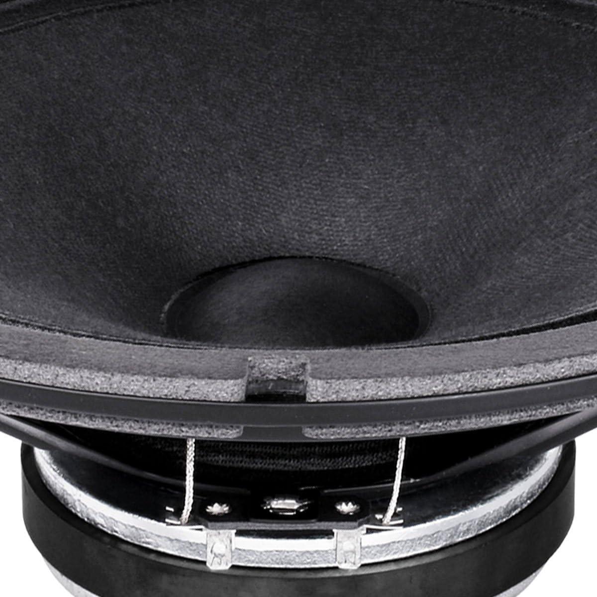 Pair Faital PRO 10FE200 10 Woofer Midrange Open Baffle Speaker 4 ohm 300W 96dB