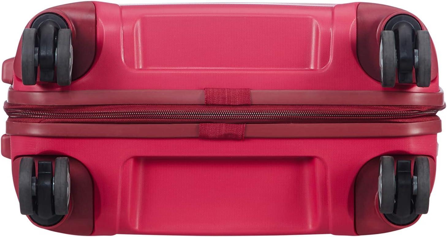 44 liters Spinner 55 Expandable 2,70 kg Hand Luggage cm Granita Red SAMSONITE Flux Red