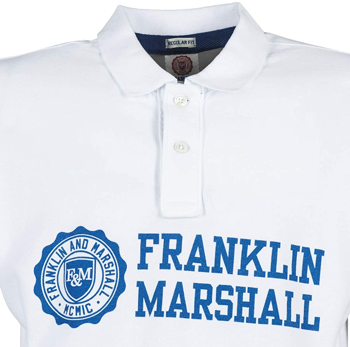 FRANKLIN & MARSHALL Aylen Tops y Camisetas Hombres Blanco Polos ...