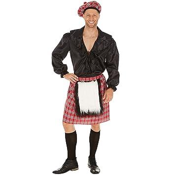 dressforfun Disfraz de Escoces para Hombre | Falda con ...
