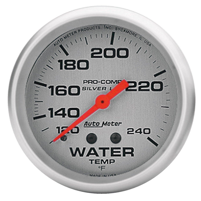 Auto Meter 4632 Ultra-Lite LFGs Water Temperature Gauge