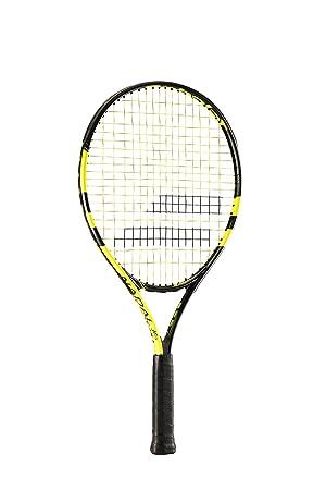 Babolat Nadal Jr 21 Raquetas de Tenis, Unisex niños, Negro/Amarillo, 000: Amazon.es: Deportes y aire libre