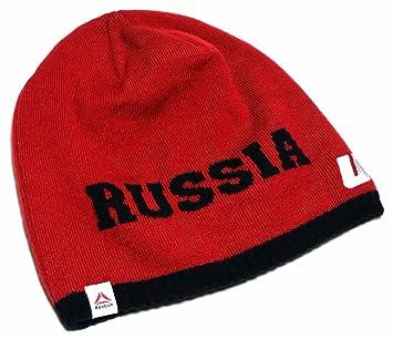 UFC Reebok - Gorro de punto Uncuffed Rusia rojo blanco gorro de lana de color negro de calavera sudadera con capucha sombrero Cap: Amazon.es: Deportes y ...