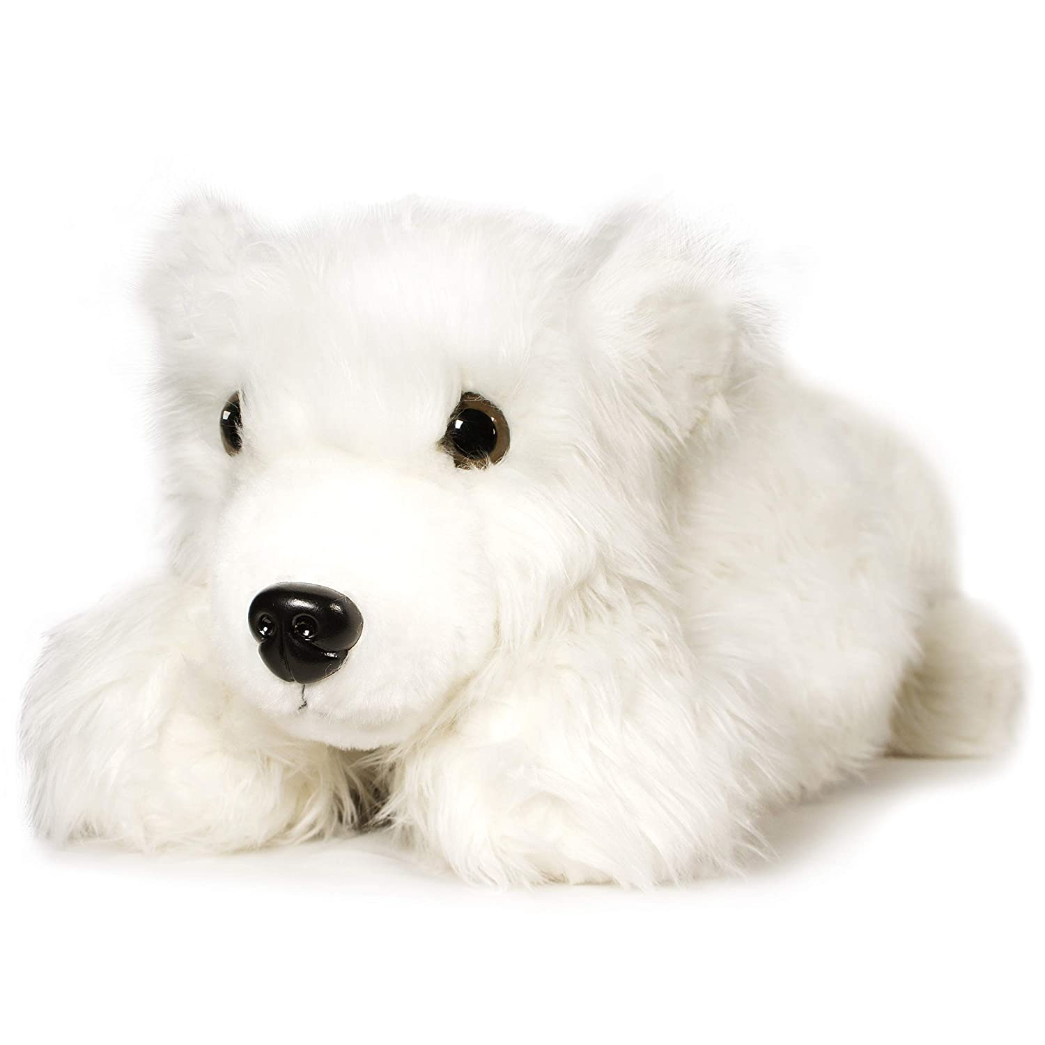 Amazon Com Viahart Pearla The Polar Bear 3 Foot Big Stuffed