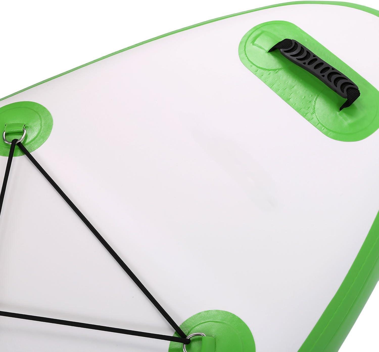 Profun Stand Up Paddle Board 10  Sup Gonflable Planche Paddle Palette R/églable Pompe 6 /épaisseur Sac /à Dos Paquet Board iSUP