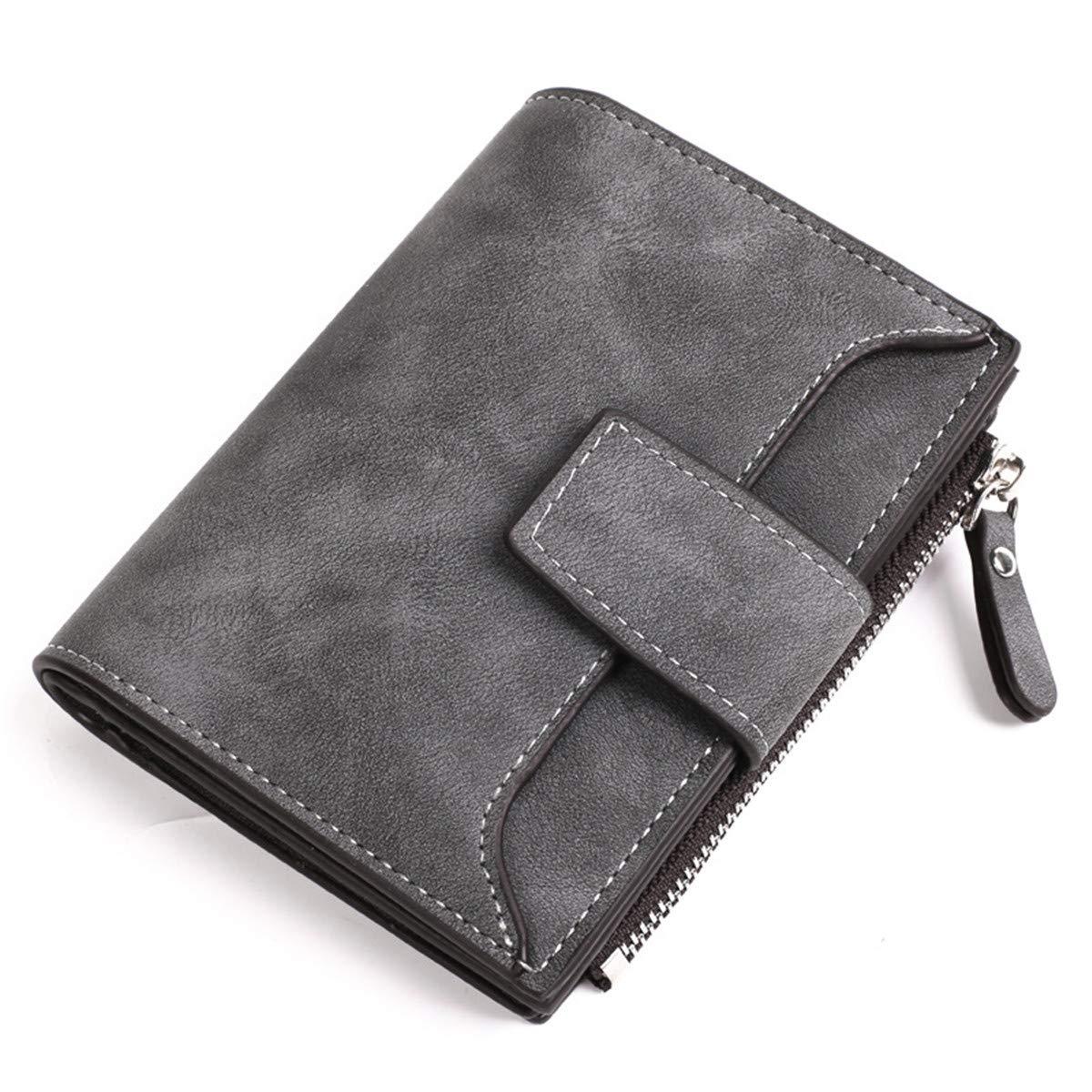 Women's Wallet Leather Long Bifold RFID Blocking Wallet by MINIKATA