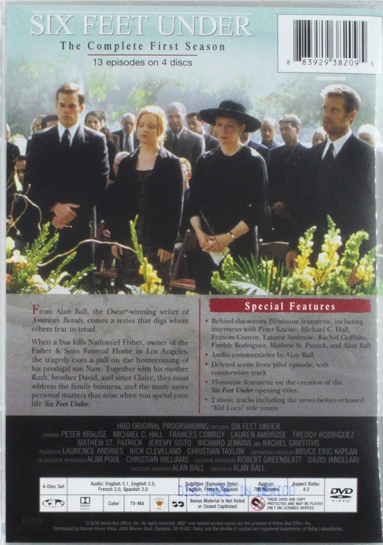 Six Feet Under: The Complete First Season: Amazon co uk: DVD