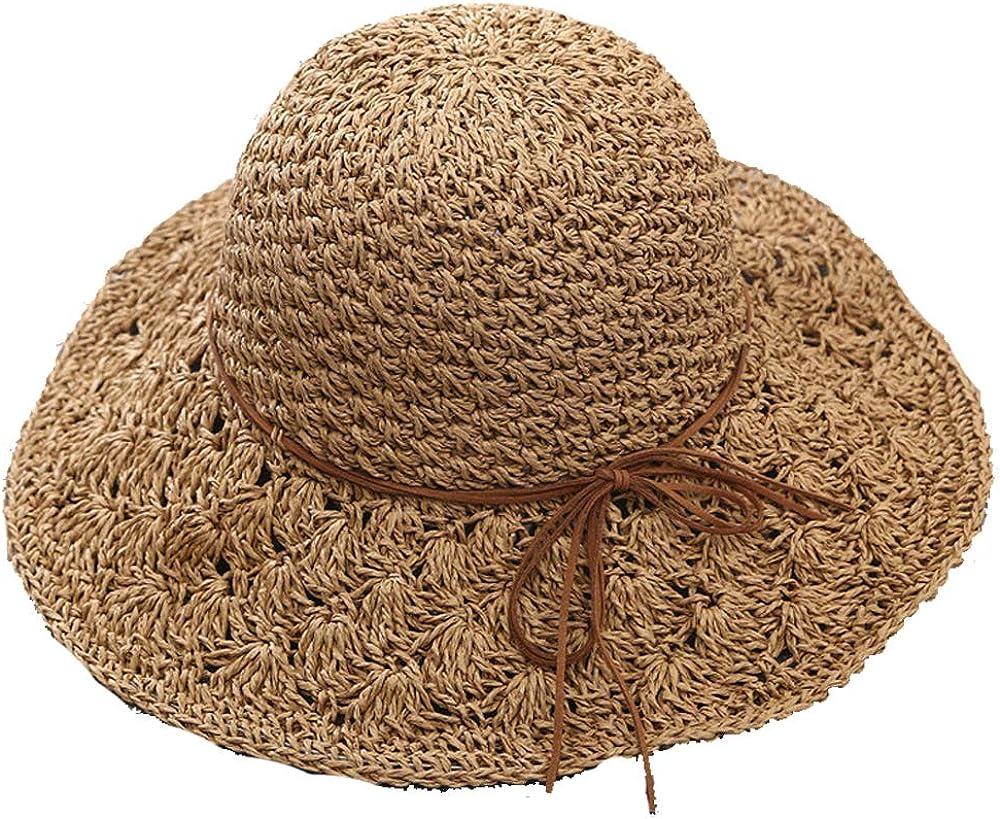 Nictrue Women Wide Brim Hat Beach Sun Hat Bridal Party Wedding Hat Women Casual Sun Caps