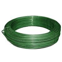 Bindedraht/Spanndraht | Verzinkt, anthrazit oder grün | 3,1 mm Stärke (110 m lang, grün)