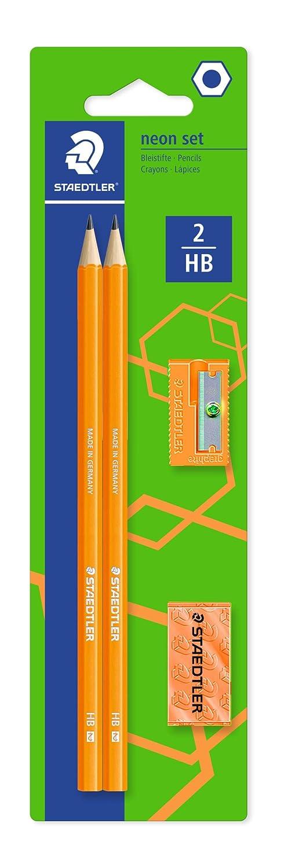 Staedtler Wopexネオングラファイト鉛筆キット – オレンジ B00UYHNKUG