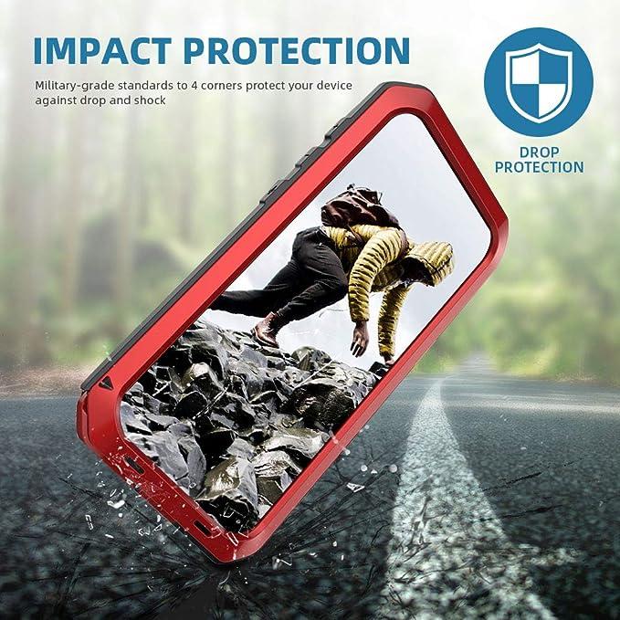 Beeasy Funda Samsung Galaxy S8 Plus,Antigolpes Rígida Robusta Antigravedad Carcasa S8+ Resistente al Impacto Militar Duradera Blindada Fuerte de ...
