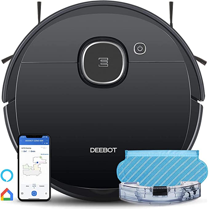 ECOVACS DEEBOT OZMO 920 2in1 Mopping Robotic Vacuum