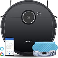 ECOVACS DEEBOT OZMO 920 2in1 Mopping Robotic Vacuum with Laser Navigation, No-Go Zones, Systematic Cleaning, Multi-Floor…