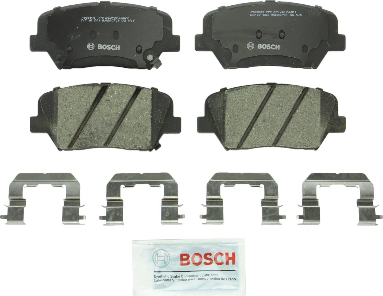 OE Replacement 2014 2015 Fits Kia Sorento Rotors Ceramic Pads R