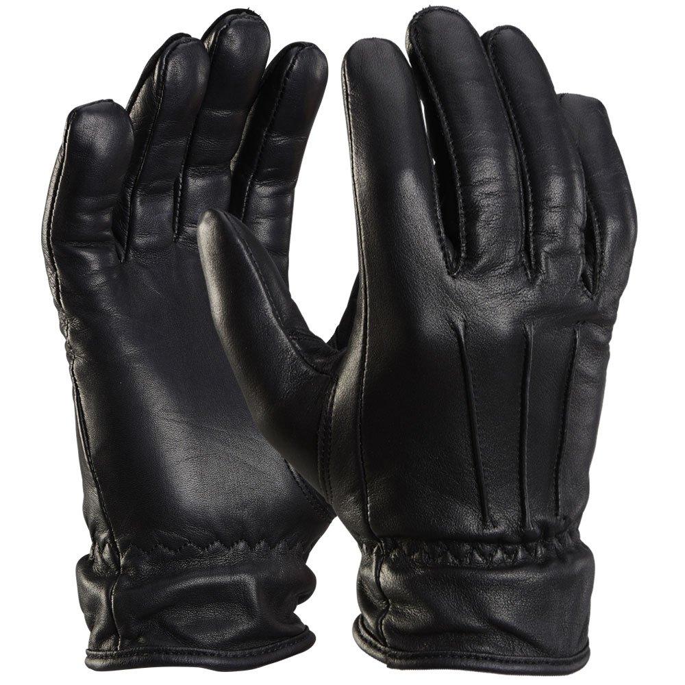 PzFst 8780 Polizei Premium Einsatzhandschuh mit 360 Grad Schnittschutz / rundherum schnitthemmend mit SPECTRA® / Security Tactical Zugriffshandschuh Fingerhandschuh Glattleder