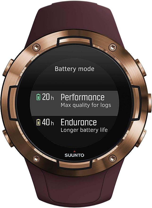 Suunto 5 Reloj multideporte GPS, unisex adulto, cristal mineral ...