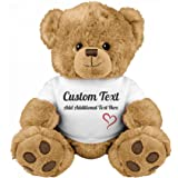 Cute Custom Teddy Bear Gift: Medium Teddy Bear Stuffed Animal