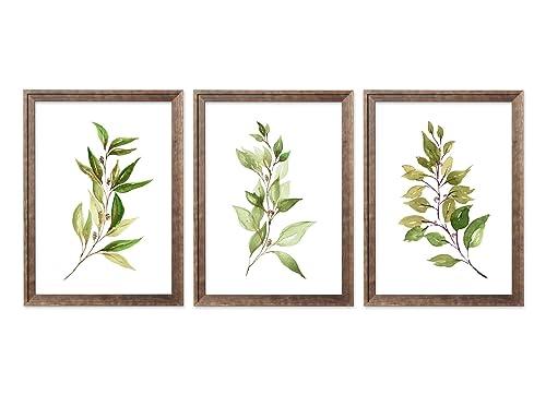 Set Of 4 Leaf Prints Plant Lover Gift Living Room Wall Art Bedroom Wall Decor Botanical Prints Plant Posters Greenery Watercolor Digital Prints Art Collectibles Vadel Com