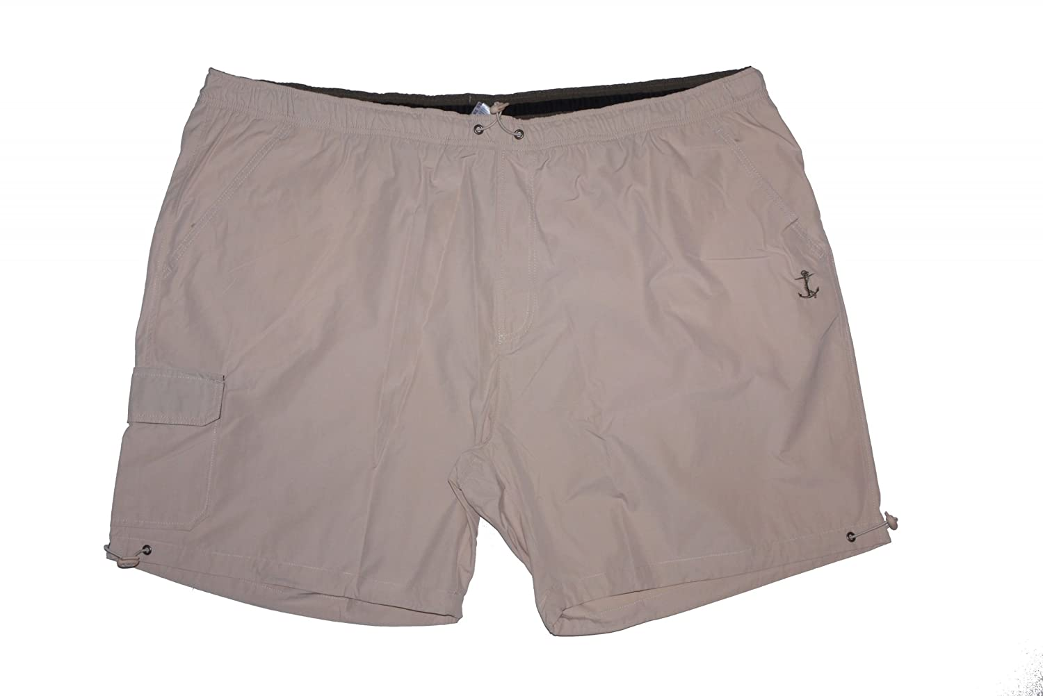 Leisure and Swimming Shorts in over sizes up to 10XL, Sand