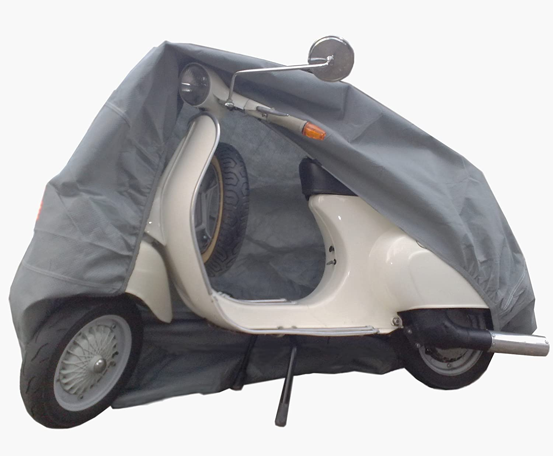 Car-e-Cover Motorradplane Motorrad Abdeckung Abdeckplane atmungsaktiv Innenbereich f/ür Vespa GTS 300