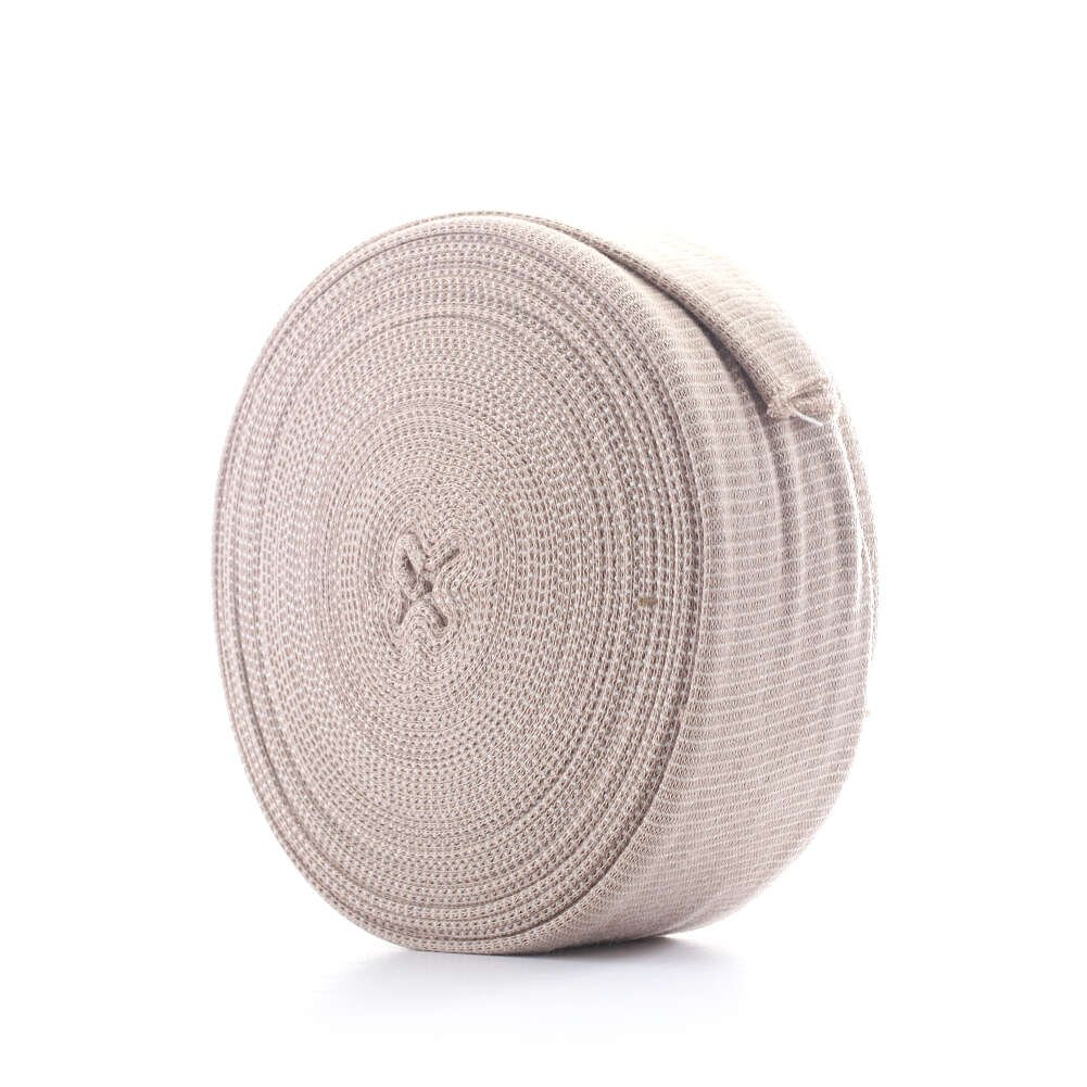 MediChoice Tubular Elastic Support Bandage, For Small Hand-Arm, Cotton Spandex, Beige, Size B, 2.50 Inch x 11 Yards (Box of 1)